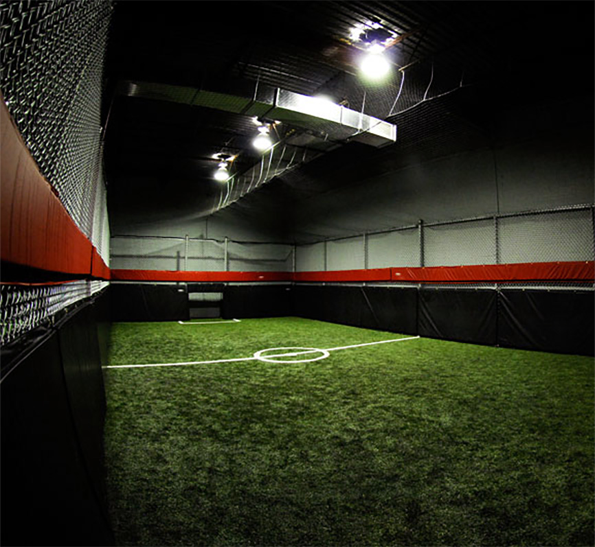 Soccer cage at Sportira Cage